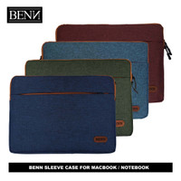 BENN - Laptop Sleeve Case Softcase Pelindung Macbook Lenovo MSI Asus