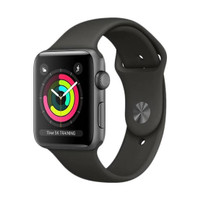 Apple watch series 3 grey 38mm warna Grey Garansi Resmi Tam/ibox/Ses
