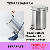 Tempat Tong Keranjang Sampah Injak 4,6 L Ikea