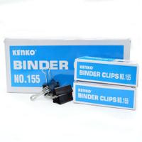 KLIP KERTAS / BINDER CLIP KENKO 155@ 12PCS