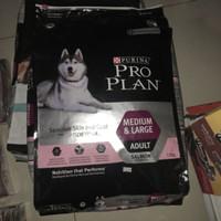 ProPlan Dog Sensitive Skin and Coar Medium & Large Adult Salmon 12kg