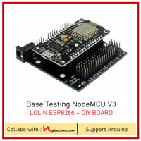 Base Testing NodeMCU Lolin V3 ESP8266 - DIY Boards