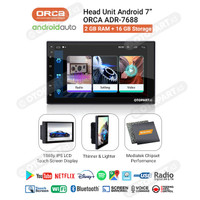 Head Unit TV Android 7″ inch Universal ORCA ADR-7688