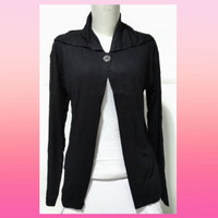 Cardigan Wanita/Outer Wanita Lengan Panjang(XL)-Bahan spandek Rayon