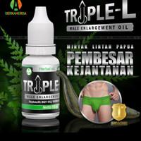 obat ppembesar alat vital pria permanen minyak lintah triple L origina