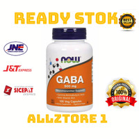 now foods gaba 500 mg isi 100 capsul
