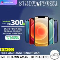 Ready iPhone 12 256GB Dual Sim 128GB 64GB (not pro max / Mini ) Resmi