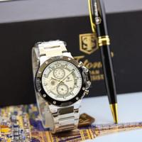 Jam tangan pria original TETONIS free box+pen dapet kartu garansi