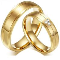 cincin couple titanium gratis ukir nama dan kotak love golden 3eyes