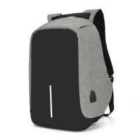 TAS RANSEL ANTI MALING ANTI AIR WITH USB CHARGER ( Premium quality )