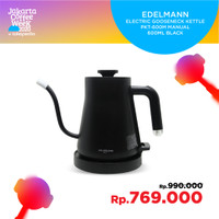 EDELMANN ELECTRIC GOOSENECK KETTLE PKT-600M MANUAL 600ML BLACK