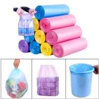 Kantong plastik sampah gulung / kantong plastik tempat sampah roll