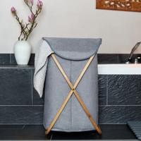 Keranjang Laundry Baju Kotor Bisa Dilipat Wenko Bahari