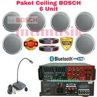 Paket Sound System Ceiling BOSCH LHM 0606 (6 unit)