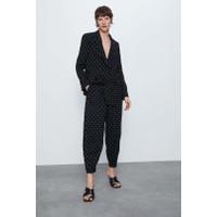 Celana Panjang Wanita Black Dotted Import F-512766