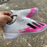 Sepatu Futsal Adidas X 19.1 Tango White Pink TF