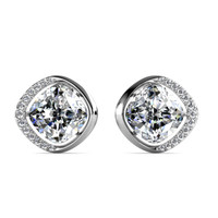 London Crystals Earrings - Anting Crystal Swarovski by Her Jewellery