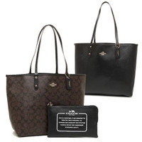 Coach Tote Bag Women with small bag Authentic ( Free Mask )