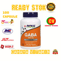 now foods gaba 500 mg isi 100 vega capsule
