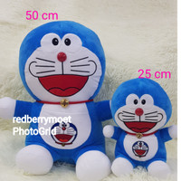 boneka doraemon 2 in 1 ( doraemon 2 pc )