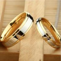 cincin couple titanium gratis ukir nama dan kotak love golden love