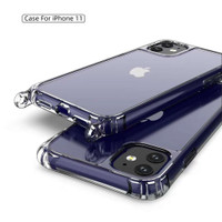 CASE CASING COVER TRANSPARANT PREMIUM STRAP + TALI IPHONE 11 PRO MAX