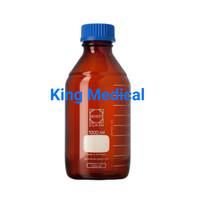 Botol Lab Coklat Laboratorium Bottle Duran 750ml - 1000ml