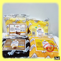 Isian Edna Creamfill 500gr (Vanilla, Coklat, Durian, Keju)
