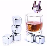 Es Batu Stainless Steel / Reusable Stainless Steel Ice Cube Food Grade