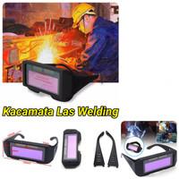 Kacamata Las Welding Auto dark Kaca Mata Otomatis Gelap Helmet Safety