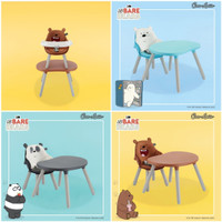 High Chair Cocolatte Multi Switch 3 in 1 We bare Bears High Chair WBB