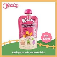 Peachy Apple puree, oats and prune juice