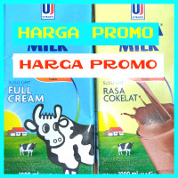 Susu Uht ultra Full Cream 1 liter 1 dus isi 12 ultra full cream 1 l - FULL CREAM