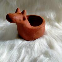 pot tanaman pot karakter clay terracotta pot jerapah pot kaktus