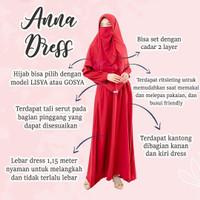 Anna dress sett hijab by Hijab Syandana