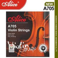 Senar Biola Violin Strings Alice A705 Set