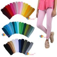 (Bisa Pilih Warna) Legging Anak Perempuan / Celana Panjang Ketat Cewek - 1-2th