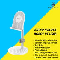 Stand Holder Tablet HP Robot RT-US08 | Docking Penyangga Ipad