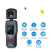 Smart Sensor St9606 Anemometer Digital Lcd Portable Pengukur Kecepatan