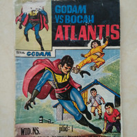 Komik Superhero Pretelan Wid NS : Godam : Bocah Atlantis