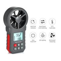F & H Professional LCD Digital Anemometer Wind Speed Meter Wind Speed/