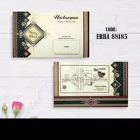 Blanko undangan pernikahan ERBA 88185
