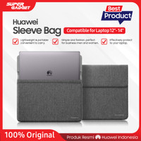 "Sleeve Bag / Tas / Pouch Laptop Huawei Compatible for Notebook 12""- 14"