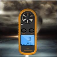 GM816 Digital Anemometer Wind-Speed Gauge Meter LCD Handheld Airflow W