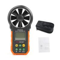 AOT.HYELEC MS6252A Digital Air Speed Anemometer / Air Volume / Air Flo