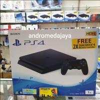SONY PS4 PLAYSTATION 4 SLIM 1 TB GARANSI SONY INDONESIA