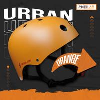 Helm Sepeda / Bicycle Helmet Selis Urban High Density EPS - Ringan - Orange, S