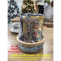 hantaran baptis anak, kado rohani anak, parcel ulang tahun rohani anak
