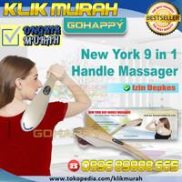 [KEMENKES] Alat Pijat infrared Newyork 9 fungsi Ghkm99 | Go Happy