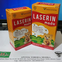 Jual obat batuk anak/Jamu Laserin madu 60 ml&100 ml